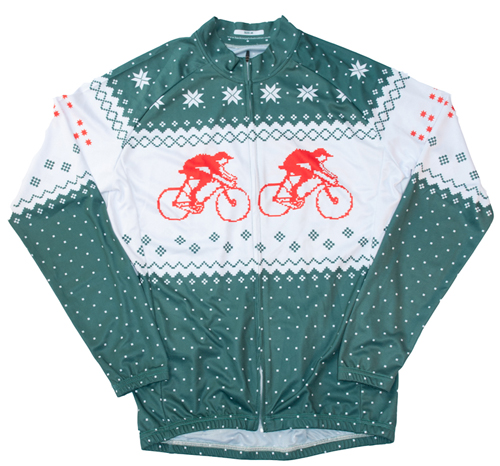 hackney gt green long sleeve jersey