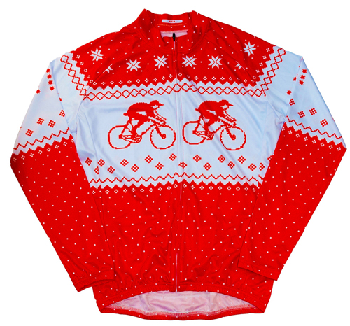 Hackney GT Red long sleeve jersey