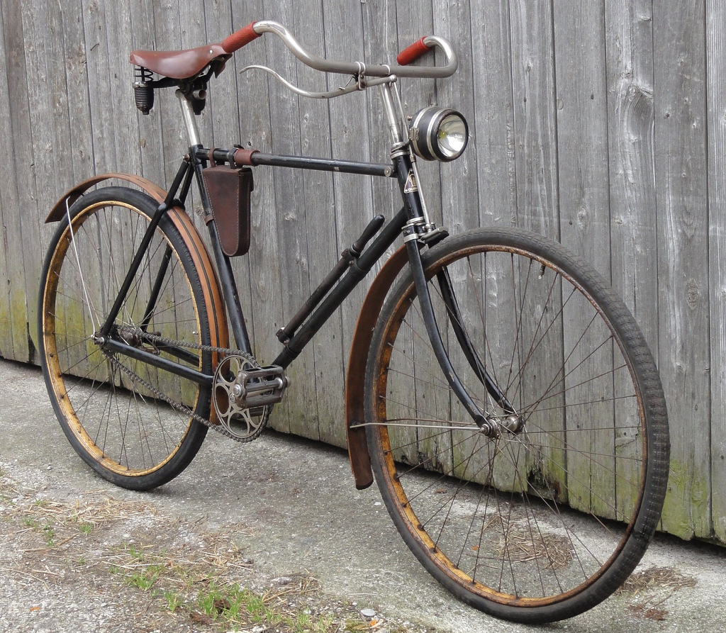 and vintage bicycles