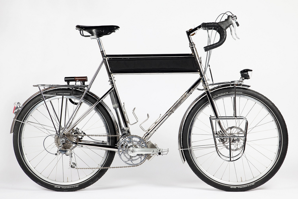 ahearne touring bike