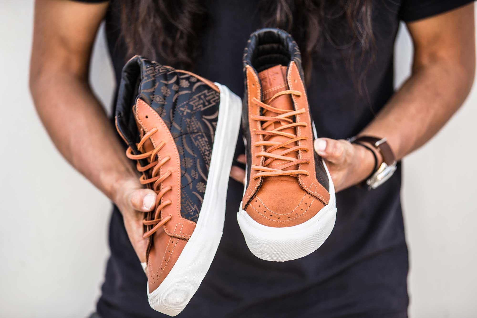 f7af2e9fc8 Brooks England teamed up with Taka Hayahsi s Vault by Vans in celebration  of their respective 150th and 50th Year Anniversary s.